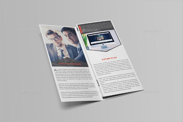 promotion tri fold brochure template download
