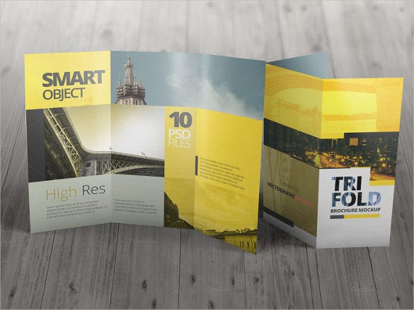 high res tri fold brochure template