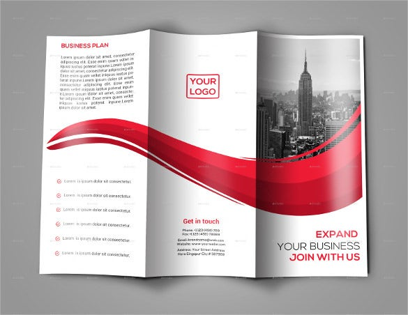 Tri fold brochure templates 56 free psd ai vector eps for Simple tri fold brochure template