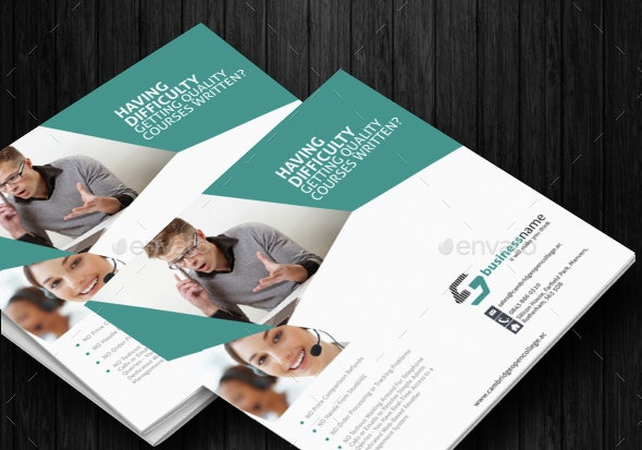 Square Tri Fold Brochure Template Illustrator Download