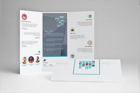 multipurpose tri fold brochure template