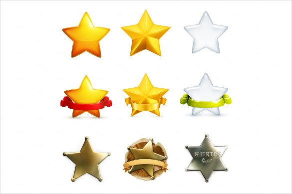 star vector illustration icons download
