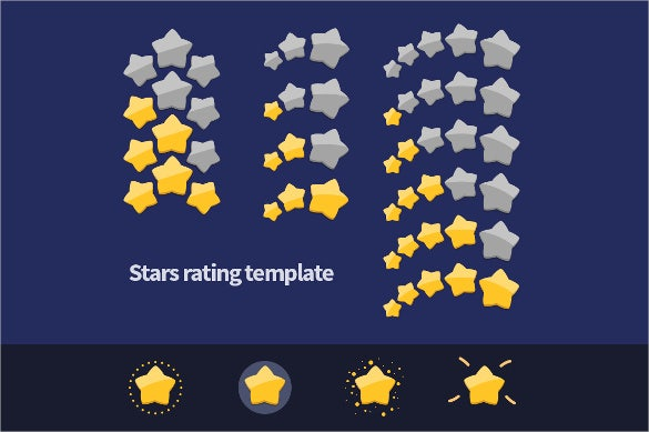 rating stars set download