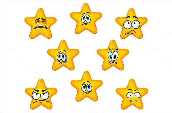 funny emotional star icons downnload