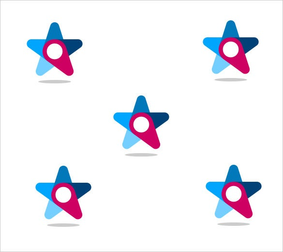 simple star logo icon download
