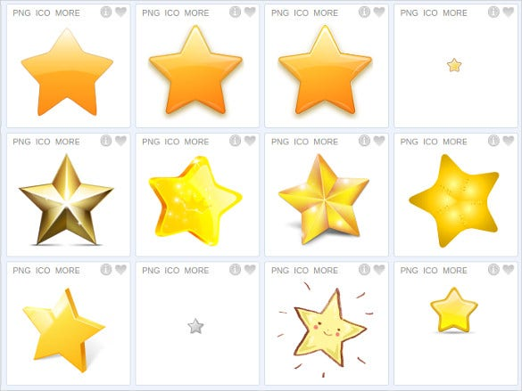 simple star icon download