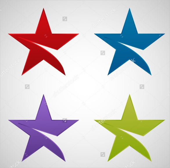 star icon vector set download