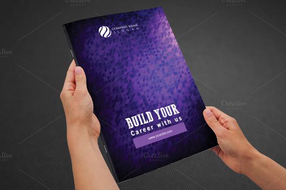 real estate bi fold brochure template psd download