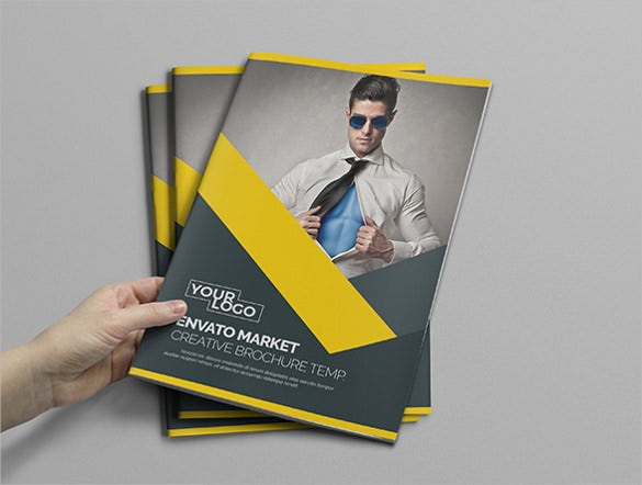 promotional bi fold brochure ready to download