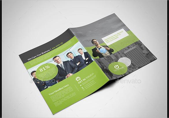 universal bi fold brochure illustrator download