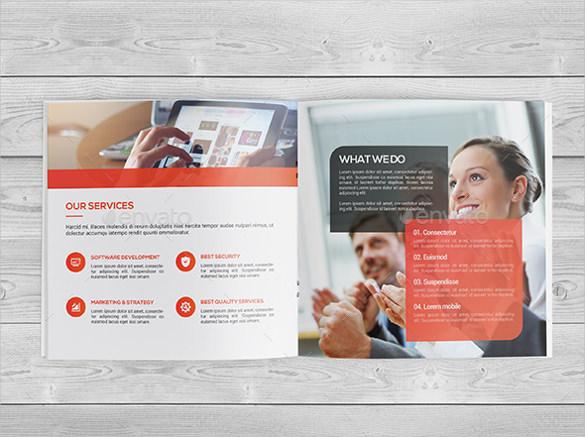 square bi fold brochure template illustrator download