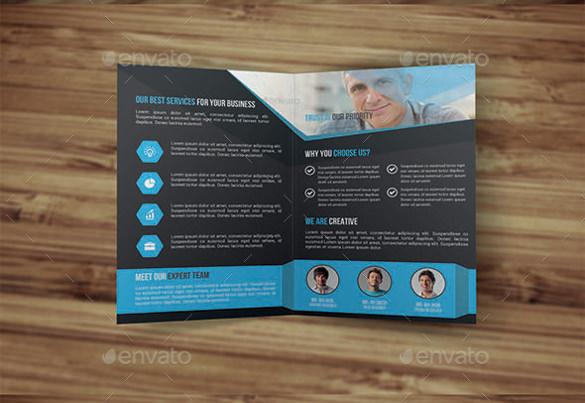 special bi fold brochure template