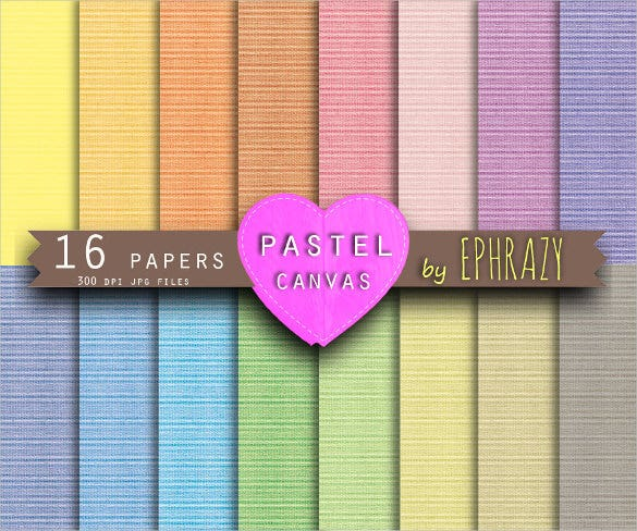 16 pastel canvas textures set download