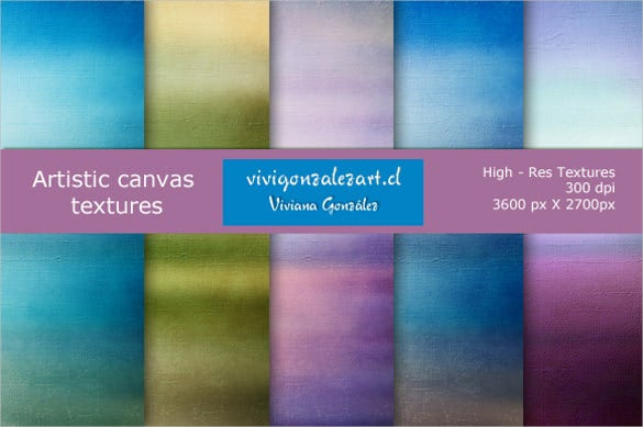 5 artistic canvas texture download