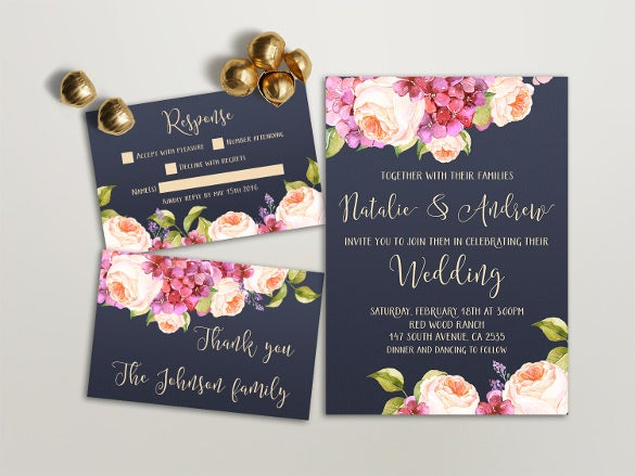 21+ wedding invitation templates – free sample, example, format, Invitation templates