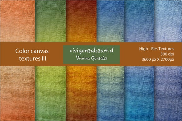 6 color canvas texture download