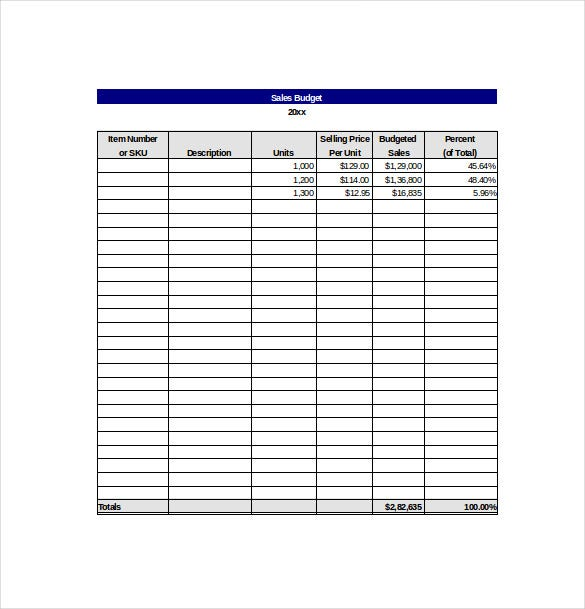 10 sales tracking templates � free sample example format