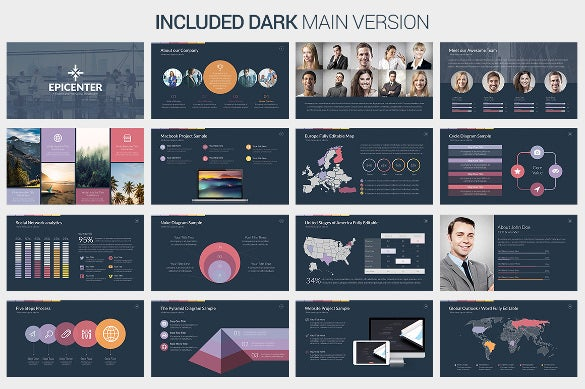 Creative powerpoint template 35 free ppt pptx potx documents epicenter creative powerpoint template premium printable download toneelgroepblik