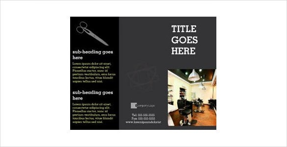 designed tri fold brochure for download