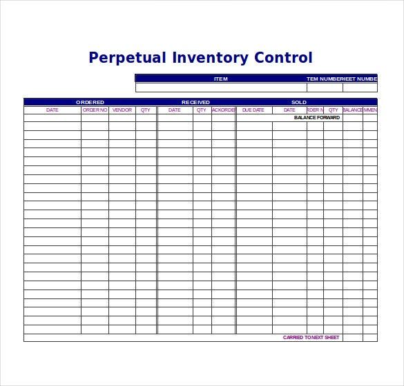 6 inventory tracking templates free sample example format