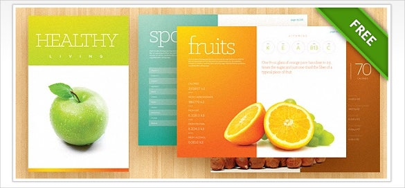 brochure template psd download
