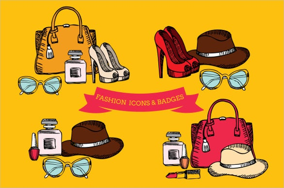 amazing fashion icons badge download