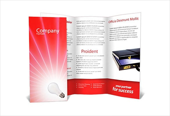Free Brochure Templates Free PSD AI Vector EPS Format - Workshop brochure template