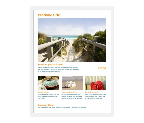 travel brochure templates free download - free brochure templates 60 free psd ai vector eps