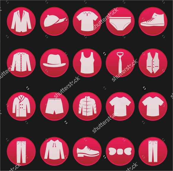 men clothing fashion item set download