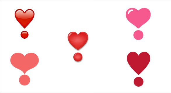 21 Express Your Love With These Heart Emoji Symbols Free