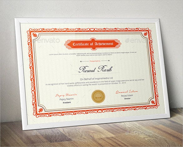 design certificate template for personal use word format