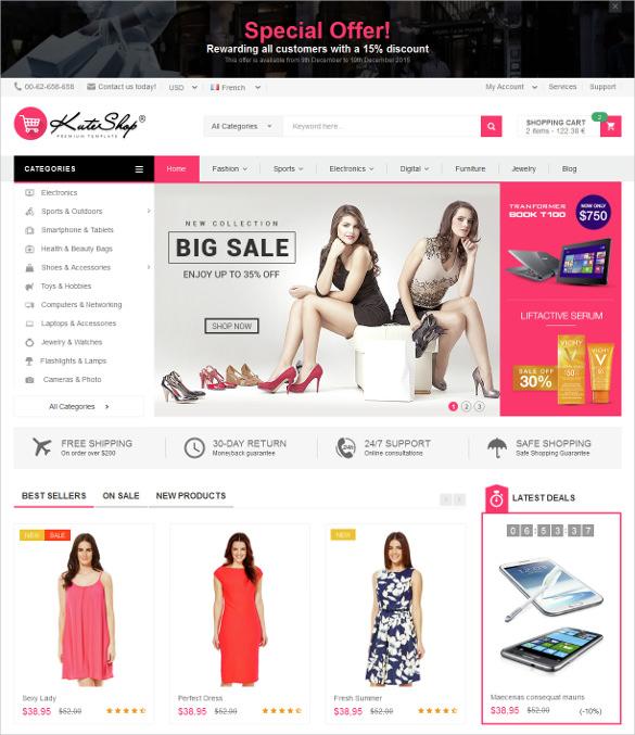 multipurpose ecommerce prestashop theme 70
