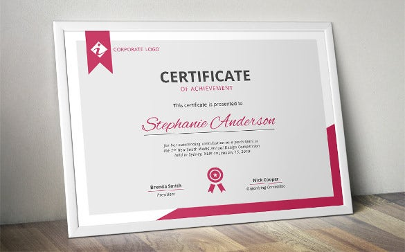 30 word certificate templates free download free premium modern certificcate template for ms word yadclub Choice Image
