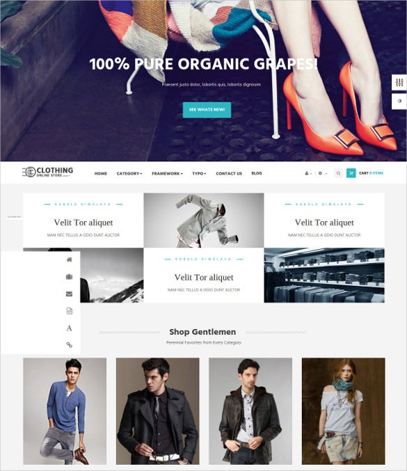 clothes prestashop theme 30