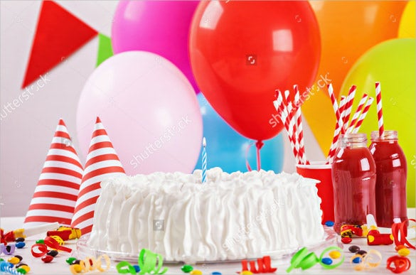 ballons candles birthday image for download