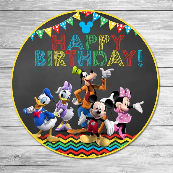 mickey mouse clubhouse happy birthday image
