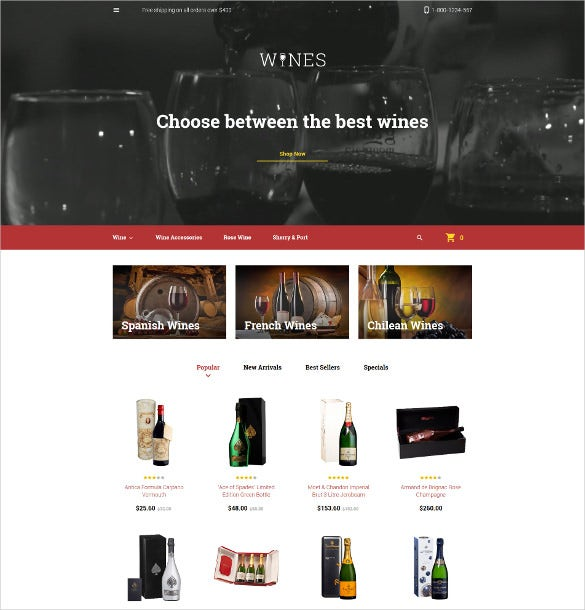wines prestashop theme 139