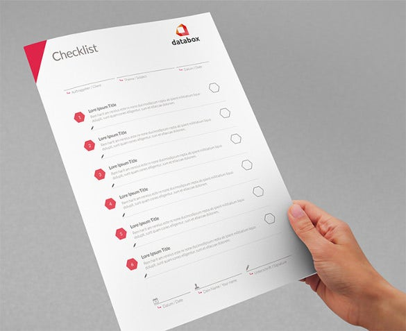 blank checklist delivery creative data indesign format