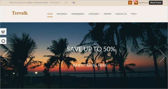 free travel prestashop theme