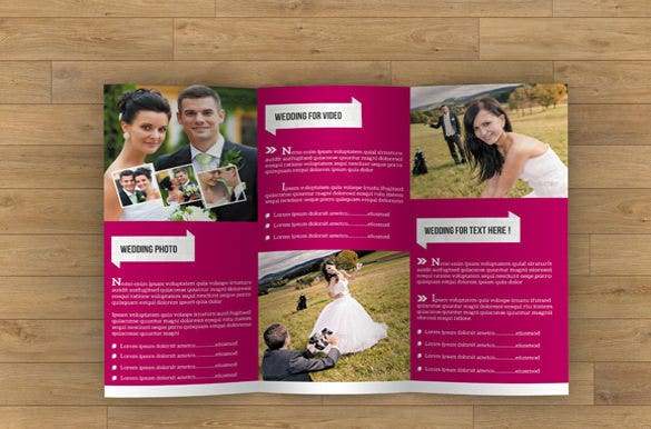 wedding brochure template free narco penantly co