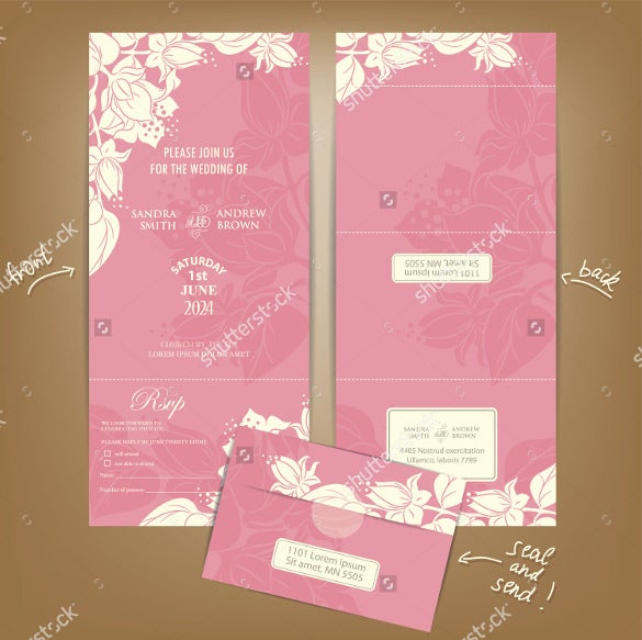 print ready wedding brochure template
