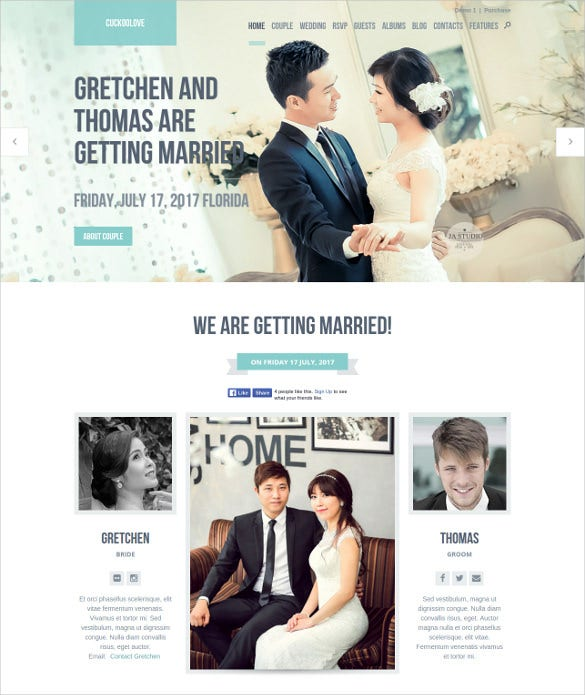 love wedding wordpress theme1