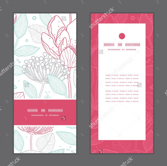 Simply Designed Wedding Brochure Template Foe Download