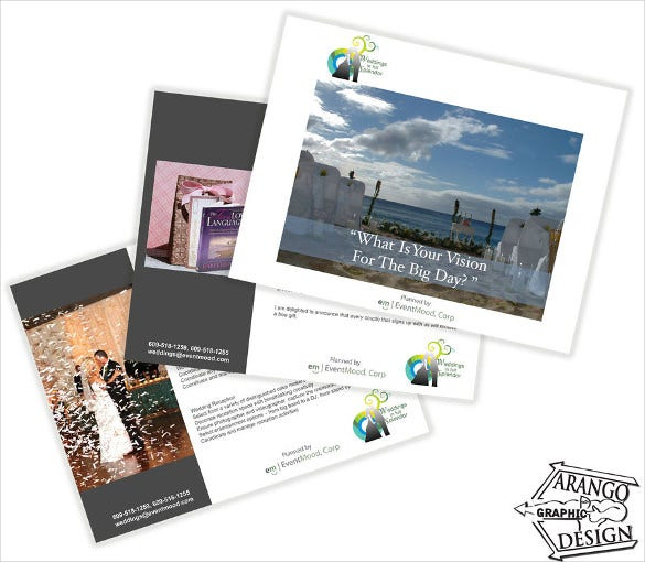 wedding brochure template for free download1