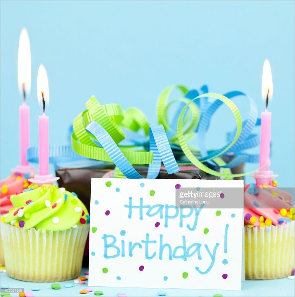 customizable birthday image download