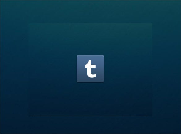 blue background tumblr icon download