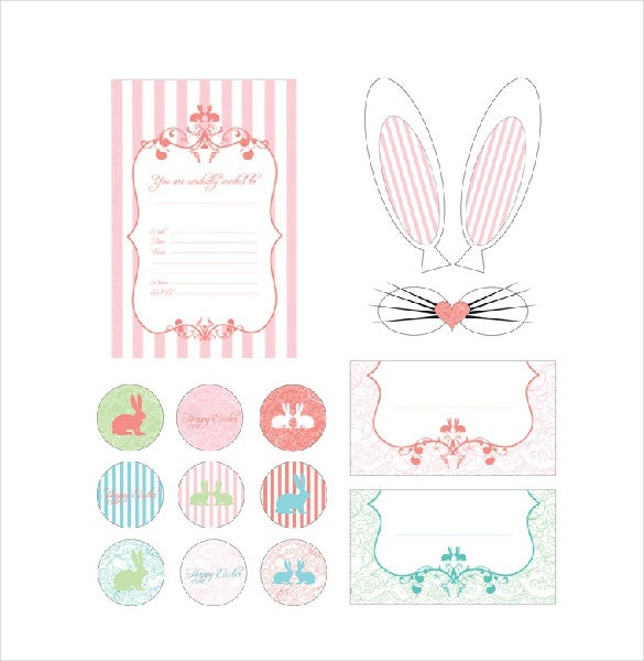 easter bookmark template