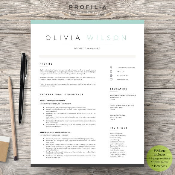 easy to edit cover letter word format template