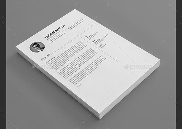 cover letter word format elegant design template