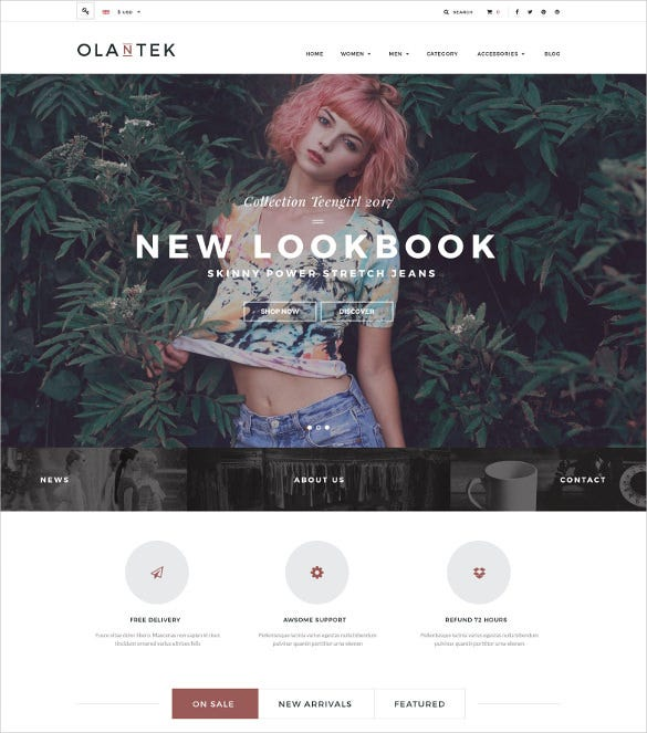 responsive boutique prestashop theme 70